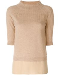 Max & Moi - Slim Ribbed Jumper - Lyst