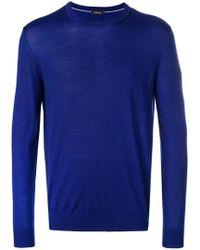Z Zegna - Crew Neck Sweater - Lyst