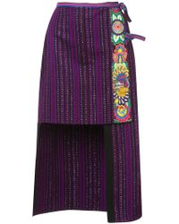 Anna Sui - Gathering Of The Tribes Skirt - Lyst
