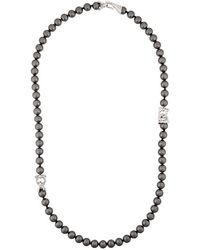 Ferragamo - Pearl String Necklace - Lyst