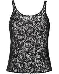 Martha Medeiros - Lace Tank Top - Lyst
