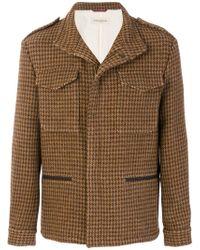 Al Duca d'Aosta - Herringbone Military Style Jacket - Lyst