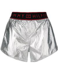 Tommy Hilfiger - Elasticated Waist Track Shorts - Lyst