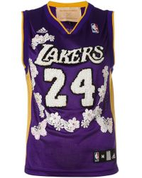 Night Market - Lakers Embroidered Nba Tank - Lyst