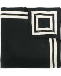 Philosophy Di Lorenzo Serafini | Stripe-trimmed Bandana | Lyst