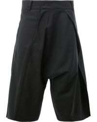 Moohong - Dropped-crotch Tailored Shorts - Lyst