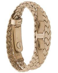 Ferragamo - Interlace Bracelet - Lyst