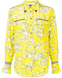 floral fitted shirt - Yellow & Orange Rag & Bone Outlet Low Price Fee Shipping High-Quality Cheap Where To Buy xcTA1Ev