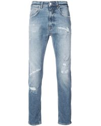 Closed - Distressed Style Jeans - Lyst