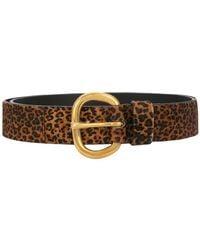 Rachel Comey - Leopard Print Belt - Lyst