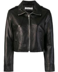 AALTO - Cropped Jacket - Lyst