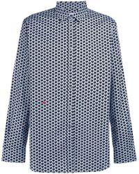 Moschino - Heart Patterned Shirt - Lyst