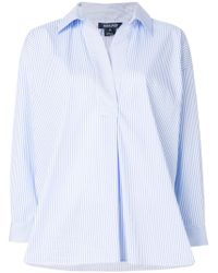 Woolrich - Boxy Striped Shirt - Lyst