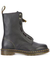 Yohji Yamamoto - Dr. Martens Front Zip Boots - Lyst