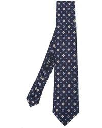 Etro - Geometric Pattern Tie - Lyst