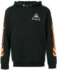 Palm Angels - Printed Hooded Sweatshirt - Lyst