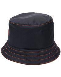 Prada - Logo Bucket Hat - Lyst