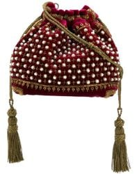 Etro - Beaded Drawstring Shoulder Bag - Lyst