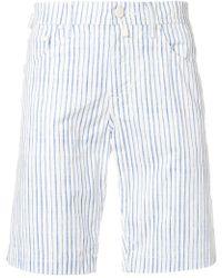 Jacob Cohen - Slim Handkerchief Shorts - Lyst
