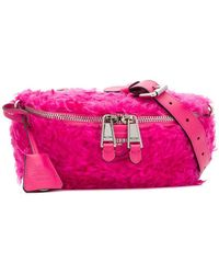 Moschino - Furry Bum Bag - Lyst