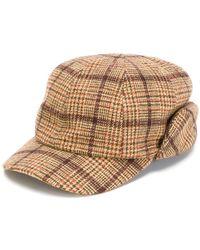 Gosha Rubchinskiy - Checked Hat - Lyst