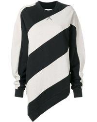Marques'Almeida - Striped Print Sweatshirt - Lyst