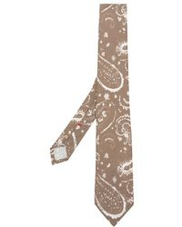 Dell'Oglio - Paisley Print Tie - Lyst