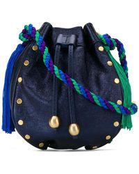 Philosophy Di Lorenzo Serafini - Tassel Bucket Mini Bag - Lyst