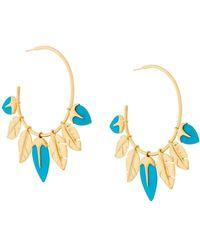 Aurelie Bidermann - Talitha Turquoise Earings - Lyst