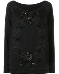 Antonio Marras - Floral Embroidered Jumper - Lyst