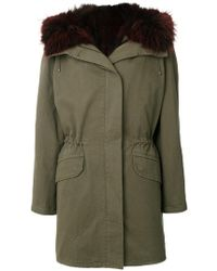 Army by Yves Salomon - Fur-lined Parka Coat - Lyst