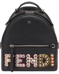 Fendi | Embellished Logo Backpack | Lyst