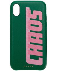 Chaos - Graphic Print Iphone X Case - Lyst
