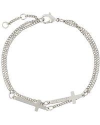 DSquared² - Cross Bracelet - Lyst