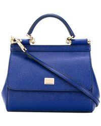 Dolce & Gabbana - Mini Sicily Shoulder Bag - Lyst