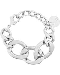 MM6 by Maison Martin Margiela - Oversized Cable Chain Bracelet - Lyst