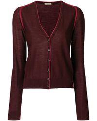 Bottega Veneta - Buttoned V-neck Cardigan - Lyst