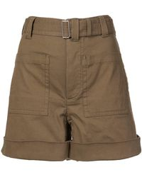 Proenza Schouler - Pswl Utility Belted Shorts - Lyst