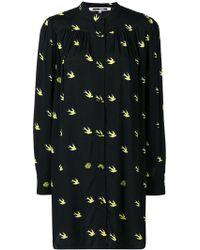 McQ - Swallow Print Dress - Lyst