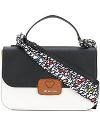 Love Moschino - Colour Block Large Tote Bag - Lyst