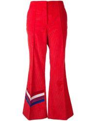 Mira Mikati - Corduroy Leg Detail Trousers - Lyst