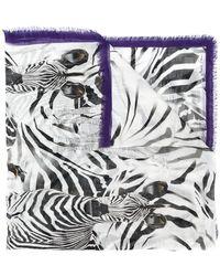 Marc Cain - Zebra Print Scarf - Lyst