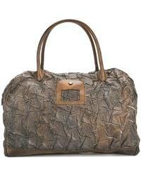 Numero 10 - Textured Overnight Tote Bag - Lyst
