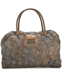 Numero 10 - Textured Overnight Tote Bag - Lyst