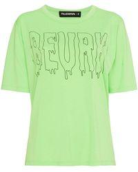 Filles A Papa - Printed Cotton T Shirt - Lyst