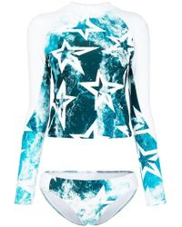 Perfect Moment - Wild Ocean Star Print Rashguard - Lyst