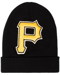 5f306937b2718 Gucci - Black And Yellow Pittsburgh Pirates Beanie - Lyst