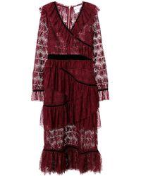 Perseverance London - Multi Ruffle Dress - Lyst