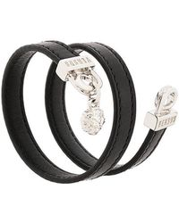 Versus - Lion Head Wrap Bracelet - Lyst