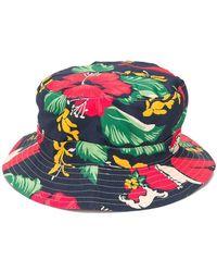 R13 - Floral Print Bucket Hat - Lyst